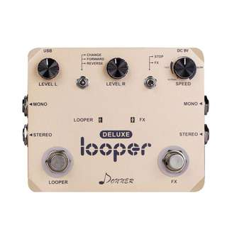 Donner Deluxe Looper Guitar Effect Pedal Loop Station