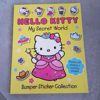 Hello Kitty Bumper Sticker Collection