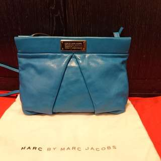 Marc By Marc Jacob 70%New, 100% Real天藍色手袋