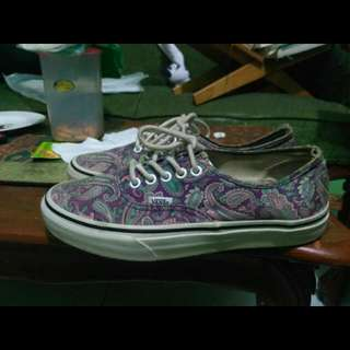 "Vans Authentic Motif ""Not Converse & Adidas"""