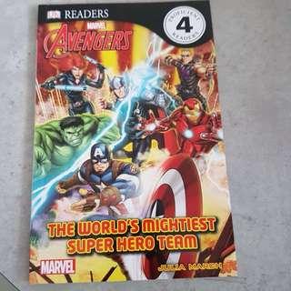 Avengers Book