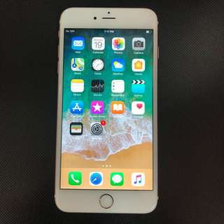 IPhone 6s Plus 16gb rose gold Color,used,nice cond 🍄👍🏻👍🏻👍🏻