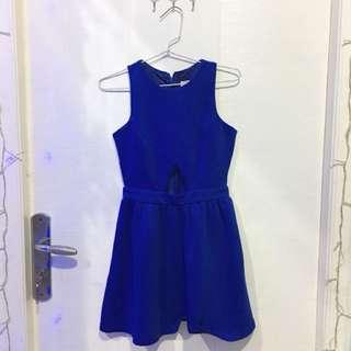 dress biru Nyla