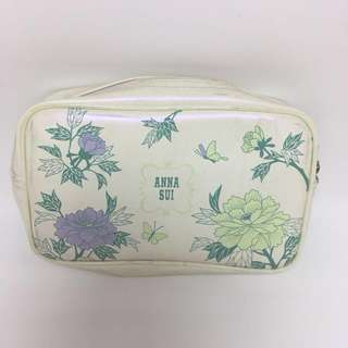 ANNA SUI ORI MAKEUP CASE POUCH BAG TAS
