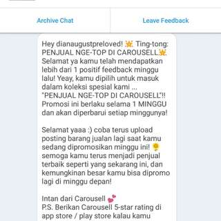 Yeayy, trusted seller😘😘
