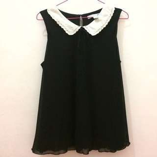 Forever 21 Black Top No Sleeves