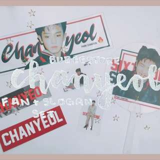 WTB exo chanyeol fansite goods