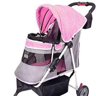 Ibiyaya Starry Sky Pink Stroller