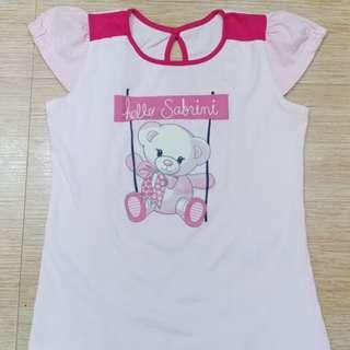 Girl kids pink top