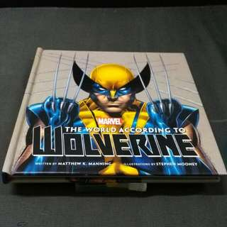 (book) Marvel Comics Wolverine book