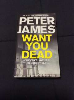 BN Peter James Want you dead book
