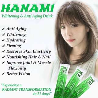 Hanami Whitening and Anti aging Beauty Drink