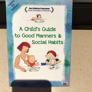 A Child Guide to Good Manners and Social Habits