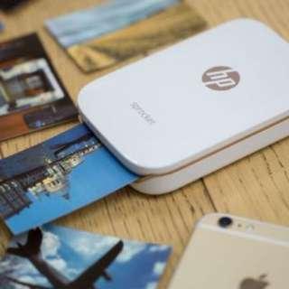 全新Hp pocket printer 情人節禮物 即影即有 貼子相機 連20張相紙