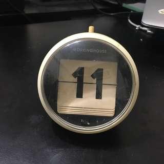 按鍵式日曆,31個數字