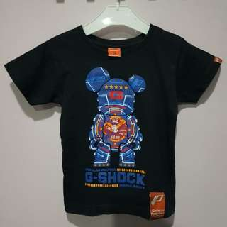 G-Shock Bearbrick Kids Limited T-Shirt by Colour Popular Culture