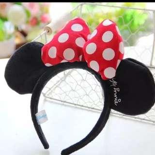 卡通米奇米妮兒童髮箍  聚會裝飾頭箍