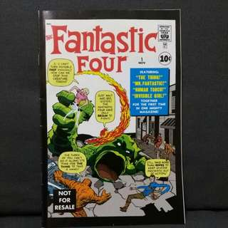 (original / re-print) First (1st) Issue of Marvel Comics Fantastic Four
