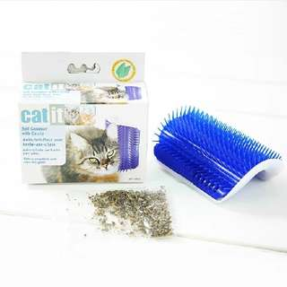 Catit self groomer brush