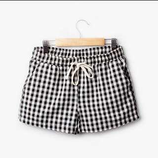 [Instock] Korean Summer Checkered Shorts