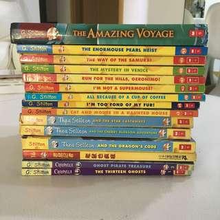15 Geronimo Stilton Books