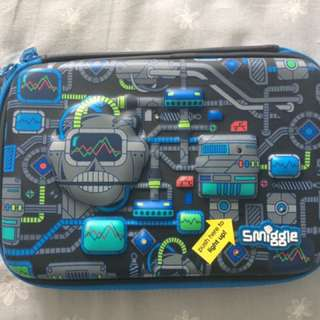 Smiggle Techie Light Up Hardtop Pencil Case