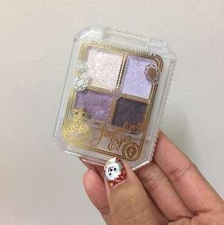 🍇免運日本戀愛魔鏡紫色系四色眼影盤Vl782/majolica majolica