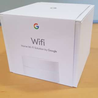 Google Wifi - Singapore set from starhub