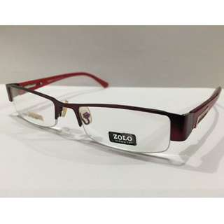[INSTOCK] ZOO HALF FRAME PRESCRIPTION SPECTACLES / WEAR FOR FASHION