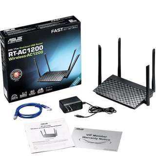 BRAND NEW ASUS Dual-band Router RT-AC1200G+