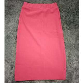 Skirt span pink