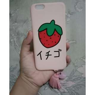 Hardcase lembut strawberry