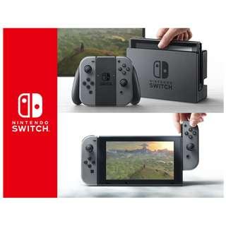 任天堂 Nintendo Switch 灰色手把主機 日本帶回 超低價免運