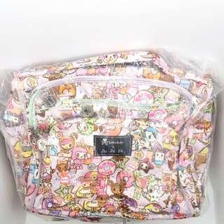BNIP Ju-ju-be x Tokidoki Donutella's sweet shop BFF Baby Diaper Bag (complete set w all straps & cp)