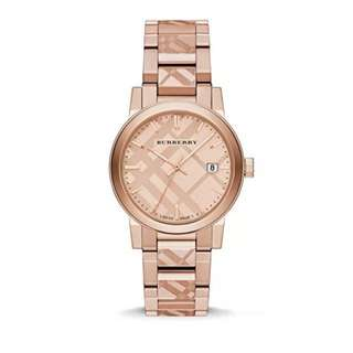 Burberry Watch Rose Gold Classic