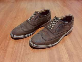 ALDO Nubuck Wingtip Oxford Shoes