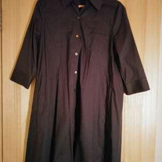 🚚 設計師陳季敏JAMEI CHEN 一件式風衣洋裝-靛藍4號(台灣製)