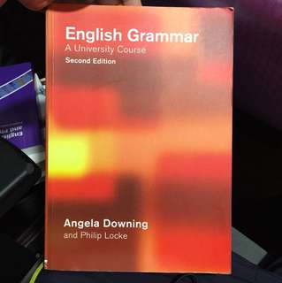English grammar a university course (Angela downing)