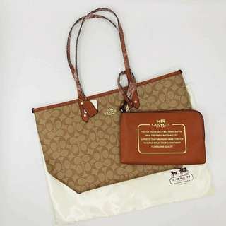 Coach reversible hand bag OEM