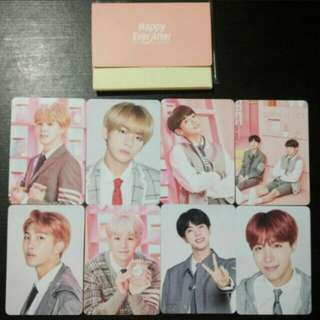 JUNGKOOK AND TAEHYUNG LOOSE MINI PC FROM BTS 4TH MUSTER MERCHANDISE