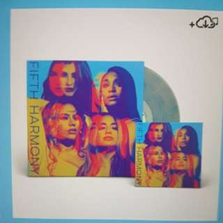 [AUTOGRAPHED] Fifth Harmony's self-titled album in Vinyl