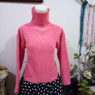 Wol tebal soft pink