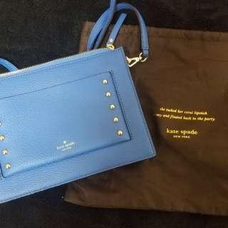 Kate Spade 藍色袋