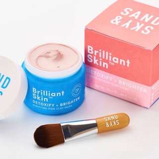 Brilliantskin - Pink clay Mask