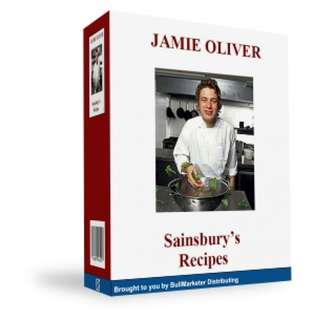 Jamie Oliver Sainsbury's Recipes (76 Page Mega eBook)