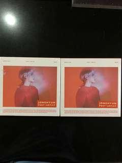 Jonghyun Poet Artist Album