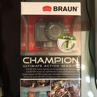Braun Champion Action Camera