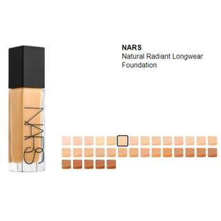 NARS Natural Radiant Longwear Foundation (PM me for the shades available)