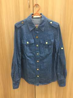 Tory Burch Denim Shirt