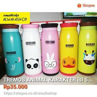 TERMOS KARAKTER ANIMAL ISI 500ml